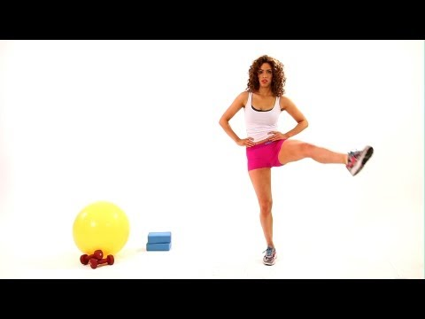How to Do a Single Leg Circle | Thighs Workout