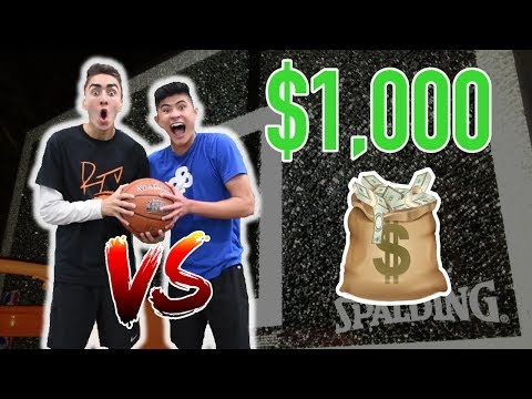 EPIC 1v1 Basketball GAME vs Nick Ireland for $1,000 DOLLARS!!