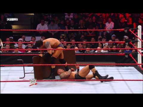Randy Orton vs. Wade Barrett - Tables Match: Tables, Ladders & Chairs 2011