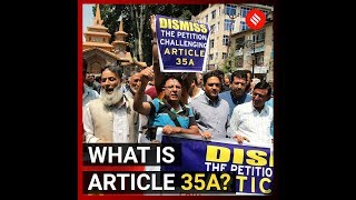 What is Article 35A of the Indian Constitution?