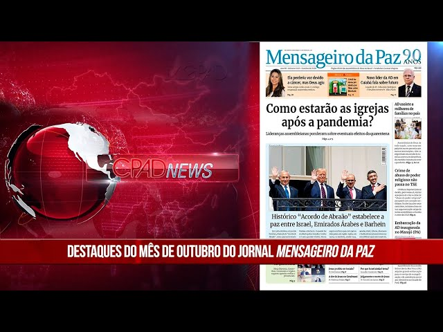 Boletim Semanal de Notícias - CPAD News 190
