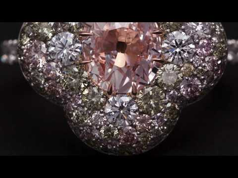 Making an Antique Pink Diamond Ring.