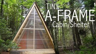 A Tiny A-frame Cabin/shelter In The Woods Of Vermont  (tiny House)