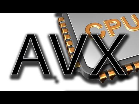 Что такое AVX инструкции и сколько от них толку? #АЙТИликбез