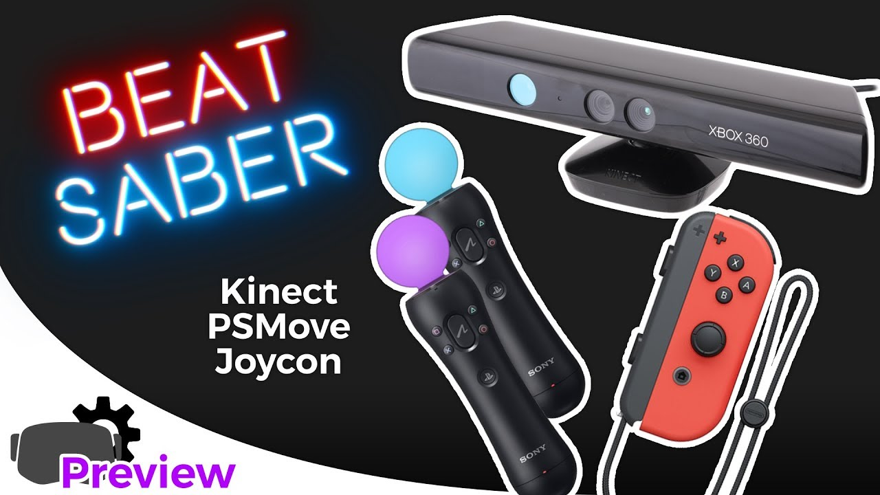 Driver4VR 5 0 - Beat Saber Optimized Edition, Kinect, Joy-Con, PS Move,  Daydream in VR