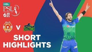 Short Highlights | Islamabad United vs Multan Sultans | Match 3 | HBL PSL 6 | MG2T