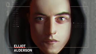 Elliot Alderson from Mr. Robot Speedpaint