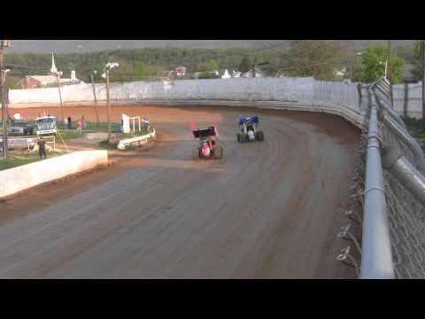 Port Royal Speedway All Star Sprint Car Full Throttle 4-30-11