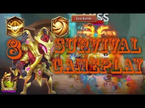 * New Talent | 8 Survival | 7 Sacred Light | 12 Skill | Asura | Gameplay | Castle Clash