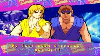 Marvel Super Heroes VS Street Fighter - Ryu/Ken - Expert Difficulty Playthrough