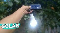 Foco portátil recargable solar | unboxing