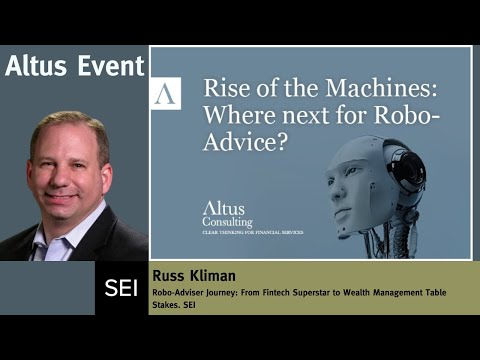Robo-Adviser Journey: From Fintech Superstar to Wealth Management Table Stakes. SEI