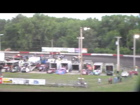 Stock Car Heat 1 @ Hamilton County Speedway 07/02/16