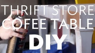 Wigw - Thrift Store Coffee Table Diy And Giveaway