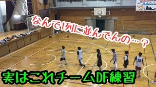 ちょっと変わったトラジションDFを向上させるメニュー【バスケ】