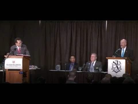 Trinity Debate: James White vs. Iglesia Ni Cristo (breaks edited out)
