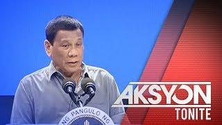 Pres. Duterte, nagpasaring sa mga nangako ng pabuya sa kasong pagpatay kay Rep. Batocabe