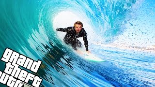 Real Surfing | Gta 5 Mod Showcase