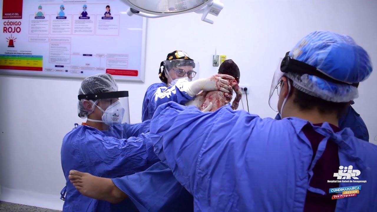 El Hospital San Rafael de Fusagasugá ofrece Parto Humanizado sin dolor.