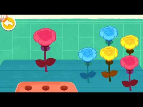Gấu Trúc Kiki_Trò chơi vui nhộn cho bé_ Tự làm hoa thời trang