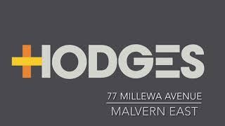 77 Millewa Avenue, Malvern East