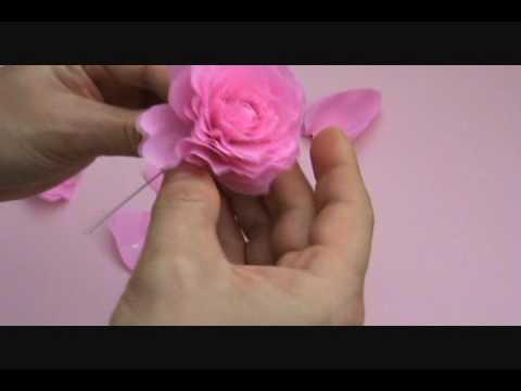 Crape Paper Rose