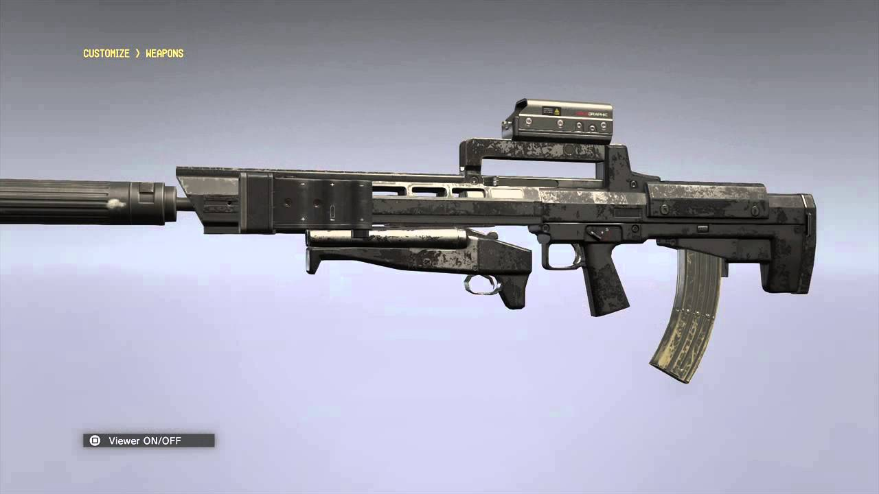 how to delete customize weapons mgsv