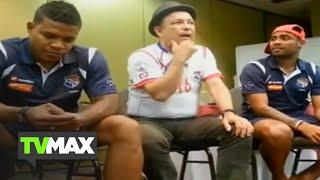 Rubén Blades canta canción PATRIA a Selección de Panamá