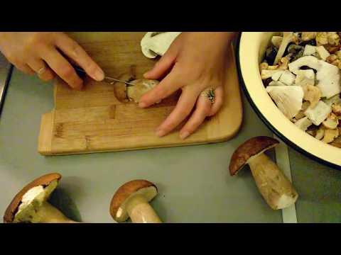 Белые грибы в сметанном соусе/Пошаговый Рецепт Белых Грибов как приготовить.