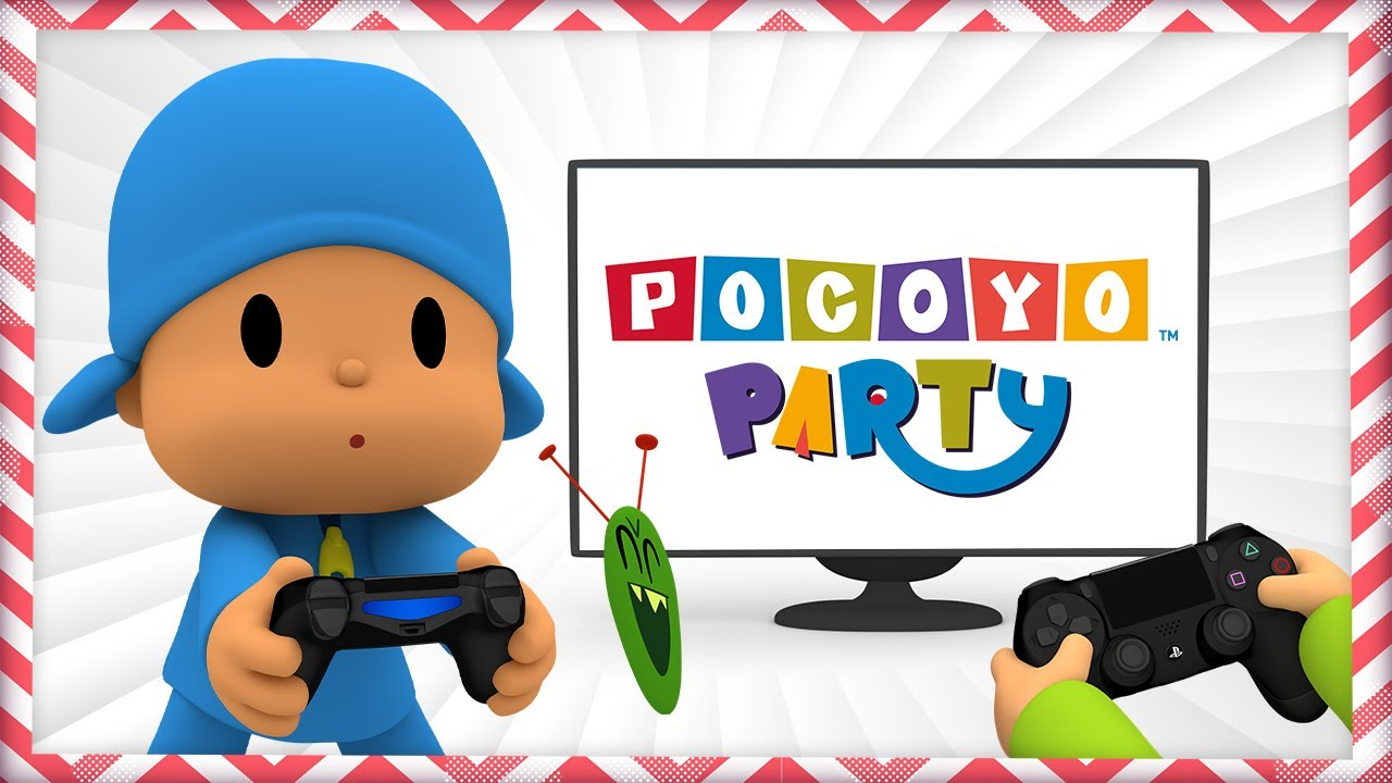 🎮 NEW VIDEOGAME: POCOYO PARTY for PlayStation and Nintendo Switch - Fun and Learning