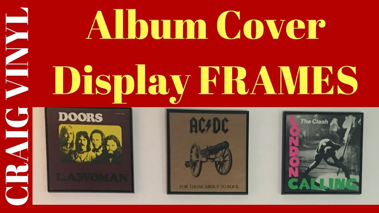 Record Vinyl Cover Display Frames - VCLT - Part 1 - YouTube