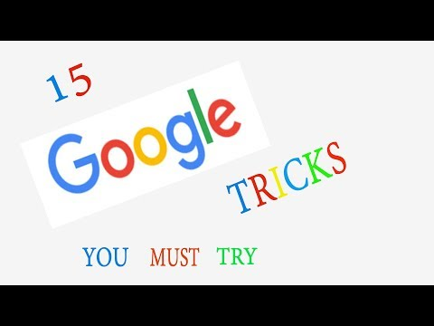 15 Google Tricks 2019 You Must Try    15 Magic Tricks With Google 2019.