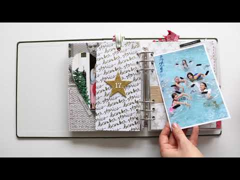 December Daily® 2017   Completed Album Overview