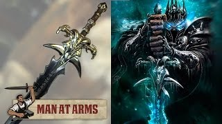 The Lich King's Frostmourne (World of Warcraft) - MAN AT ARMS(Which weapon will be next? ▻ Subscribe! http://bit.ly/AWEsub Every other Monday, master swordsmith Tony Swatton forges your favorite weapons from video ..., 2014-06-30T16:57:35.000Z)