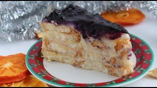 Торт который не нужно печь из печенья ушки