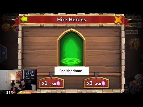 Rolling 63000 For Heroes Dutch DADDY Needs The GOODS Castle Clash