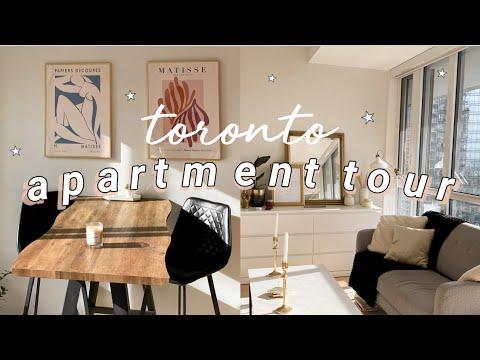 TORONTO APARTMENT TOUR | MY DOWNTOWN 1 BEDROOM CONDO