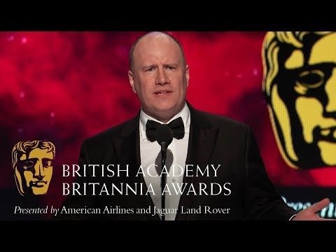 Kevin Feige's Acceptance Speech at the Britannia Awards 2018