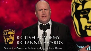 Kevin Feige\'s Acceptance Speech at the Britannia Awards 2018