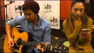 XO (Beyoncé) - Sam Milby and Jessica Sanchez @ Barrio Fiesta Glendale