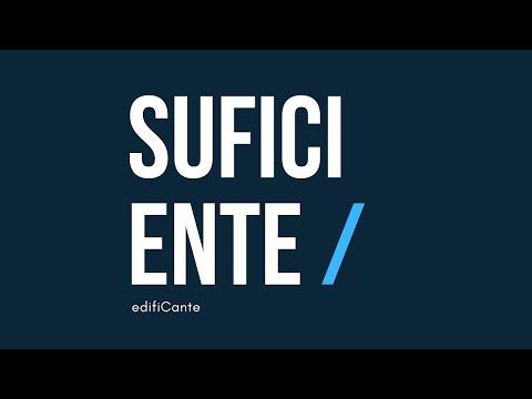 SUFICIENTE - edifiCante
