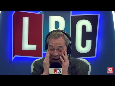 The Nigel Farage Show: Labour Party Turmoil/UKIP Re-brand? Live LBC Feb 27th 2017