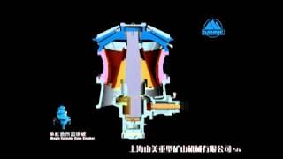 Гидравлическая конусная дробилка(Гидравлическая конусная дробилка Серии SMH соединяет преимущества самых стабильных и передовых в мире кону..., 2015-01-09T02:56:22.000Z)
