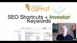 SEO Keywords for Real Estate Investors - SEO for Investors - carrot.com