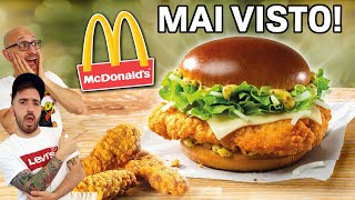 Un PANINO MAI VISTO da McDONALD'S! Proviamo l'HOMESTYLE CRISPY CHICKEN HONEY MUSTARD BACON!