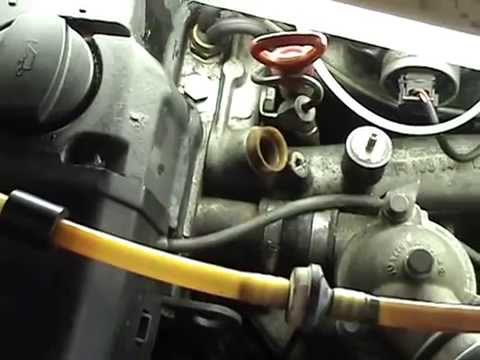 300E 1989 Mercedes Idle control valve and oxygen sensor