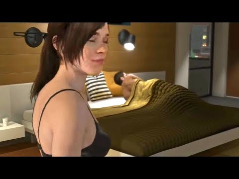 """Sex After Pizza Dinner Scene - Beyond Two Souls """"In Love with Ryan"""" Trophy - Jodie"""