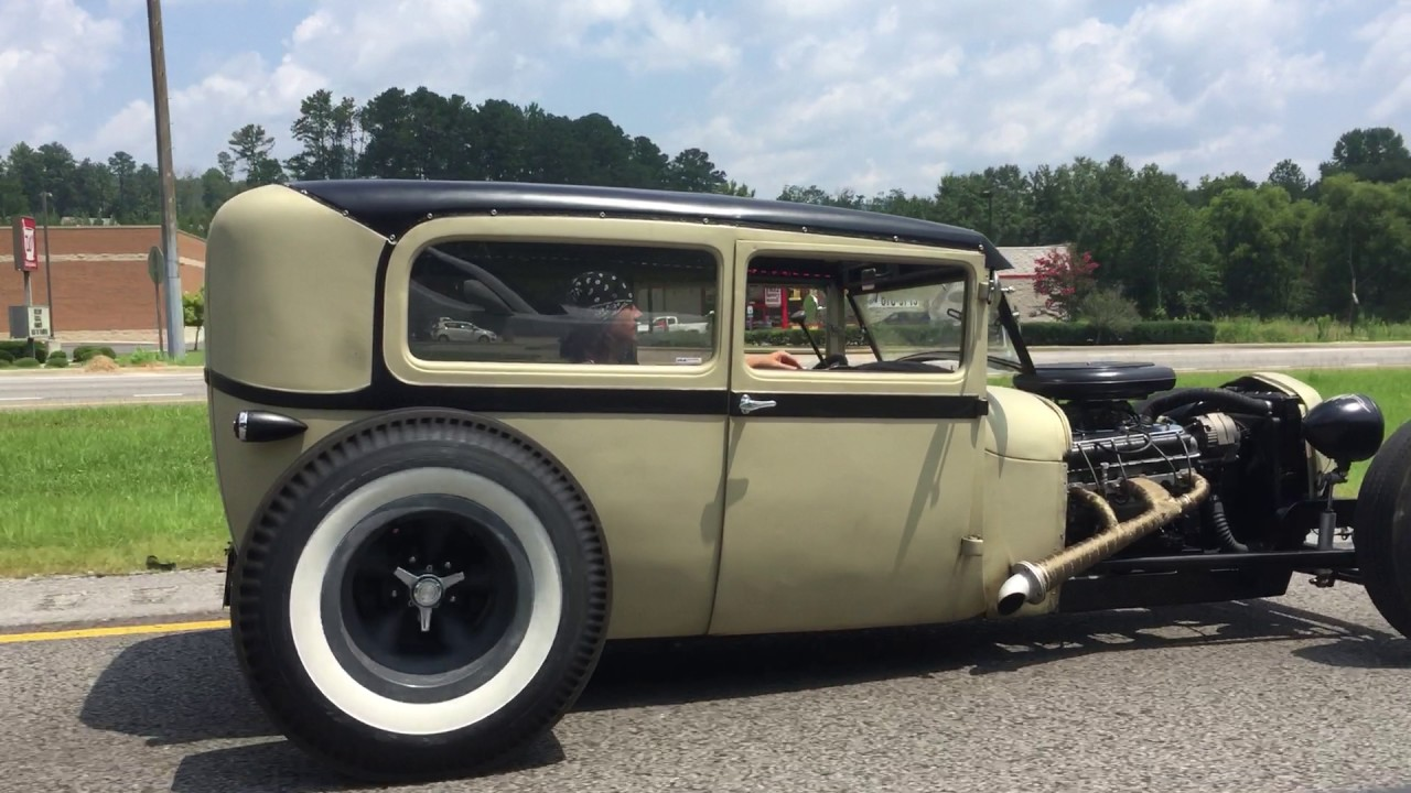 RAT ROD FORD MODEL A TUDOR SEDAN FOR SALE - YouTube