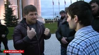 Рамзан Кадыров уговорил террориста сдаться (с субтитрами)
