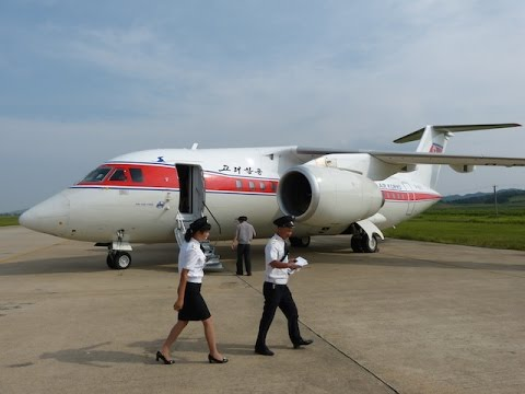 Air Koryo An 148 Takeoff Approach Landing Fnj Pyongyang Airport